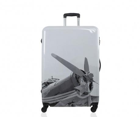 Rockefeller Print Gurulós  bőrönd