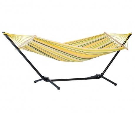 Hamac cu suport Jamaica Canaria 100x200 cm