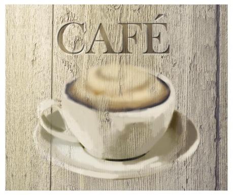 Протектор от пръски за газов котлон Cafe