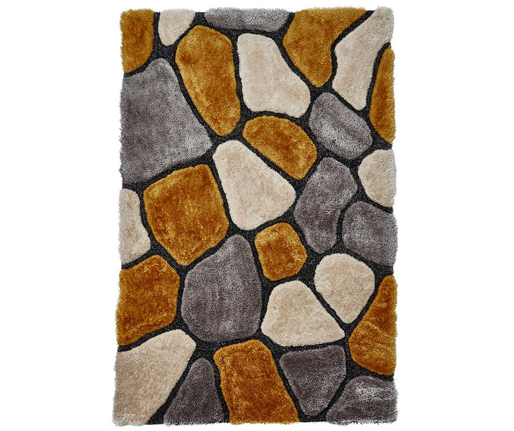 Covor Noble House Grey and Yellow 120x170 cm - Think Rugs