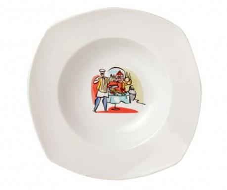 Deco Tésztás tányér