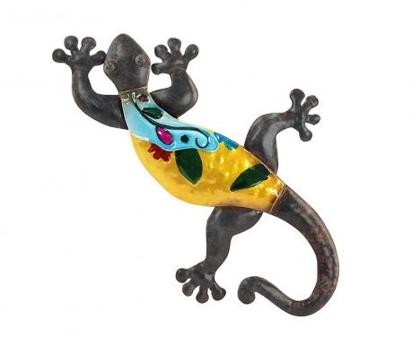Decoratiune de perete Colourful Lizard