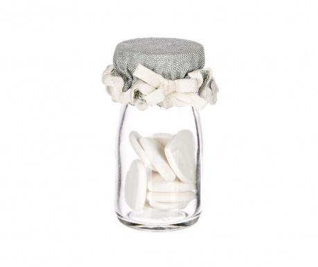 Комплект буркан с 10 ароматизирани декорации Tiny Hearts
