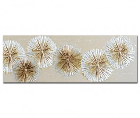 Slika Agnola Flowers 60x150 cm