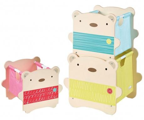 Комплект 3 кутии за съхранение Bear Hug