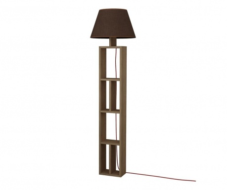Lampadar Giorno Natural Brown