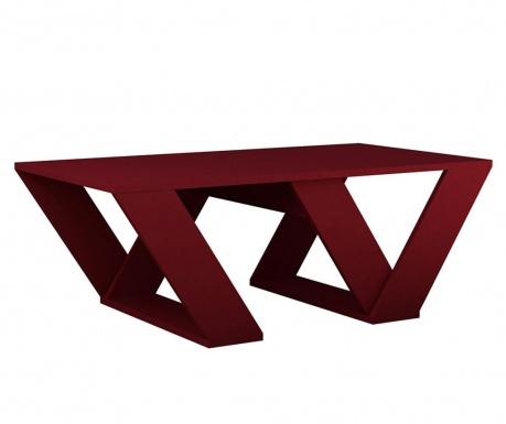 Konferenčný stolík Pipra Claret Red
