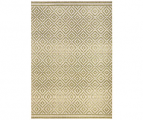 Venkovní koberec Meadow Raute Green Cream