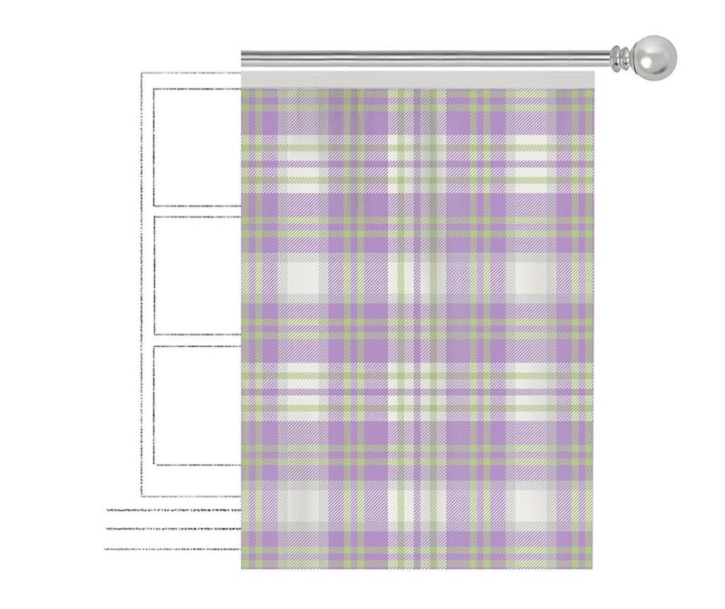 Draperie Toshia Purple 140x270 cm