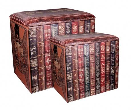 Set 2 taburea Books