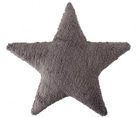 Okrasna blazina Star Dark Grey 54x54 cm