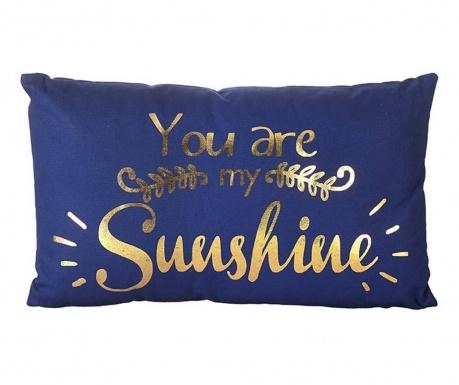 Dekoračný vankúš You are My Sunshine 30x50 cm