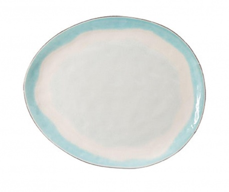 Mělký talíř Malibu Oval