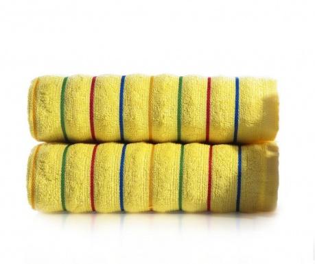 Zestaw 2 ręczników kąpielowych Molgaard Light Yellow 50x90 cm