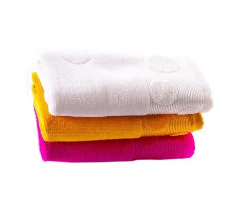 Zestaw 3 ręczników kąpielowych Jewel Bright 30x50 cm