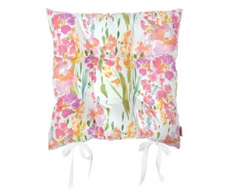 Jastuk za sjedalo Print Red Flowers 37x37 cm