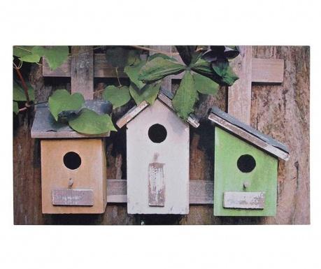 Otirač Bird Houses 45x75 cm