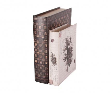 Set 2 cutii tip carte Edward