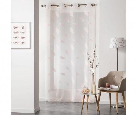 Záclona Lyria Pink 140x240 cm
