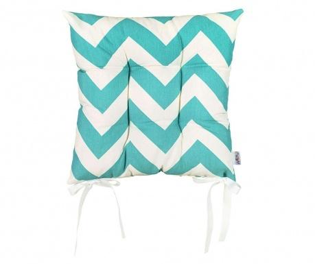 Jastuk za sjedalo Turquoise Waves 37x37 cm