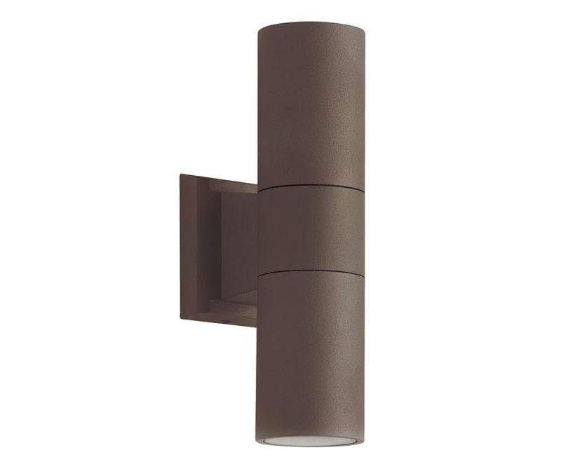 Aplica de perete pentru exterior Sotris Brown Equilibrium