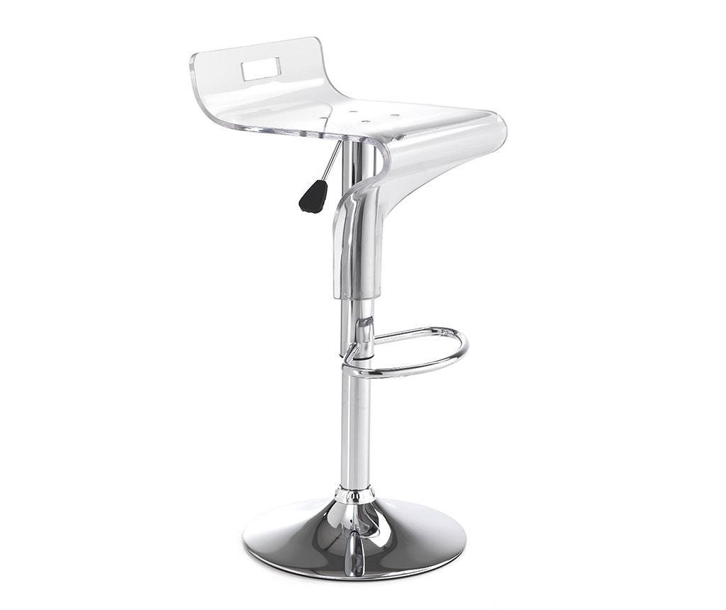 Set 2 scaune de bar Ice - Tomasucci, Alb