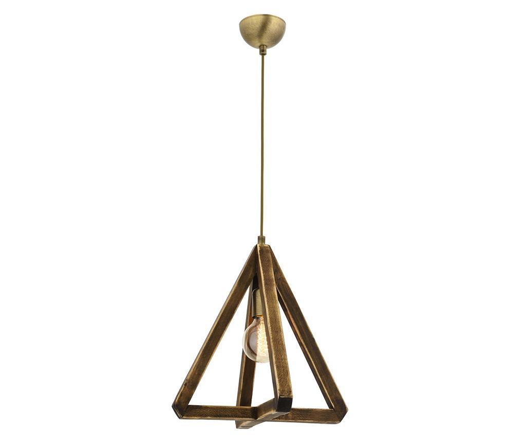 Lustra Triangle One - Avonni, Galben & Auriu