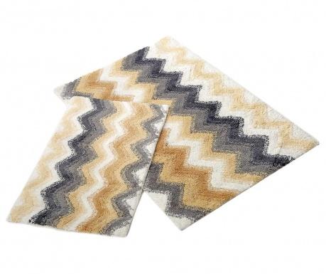Leron Ecru 2 db Fürdőszobai szőnyeg