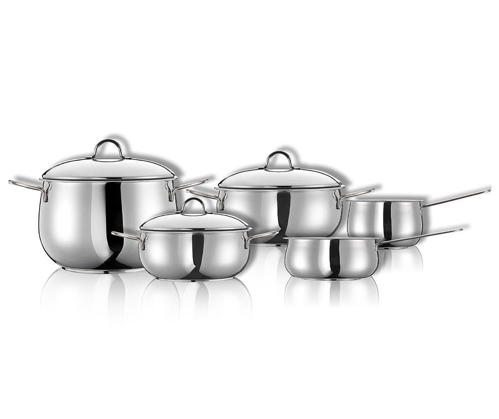 8-delni set posode za kuhanje Econatura