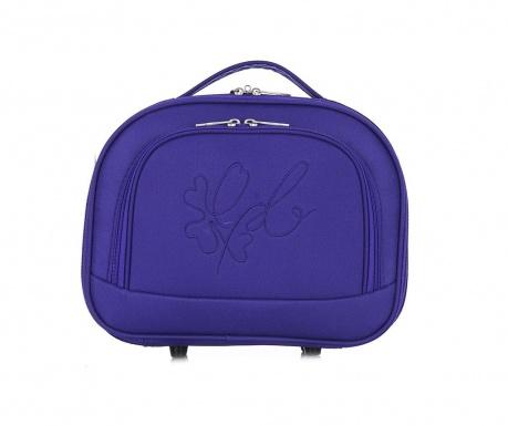 Anna Dark Purple Kozmetikai táska