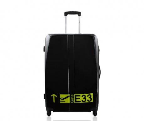 Gate Noir  Gurulós  bőrönd