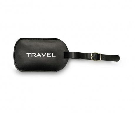 Eticheta pentru bagaje Travel White