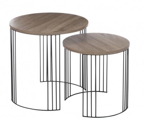 Set 2 stolića za kavu Silas