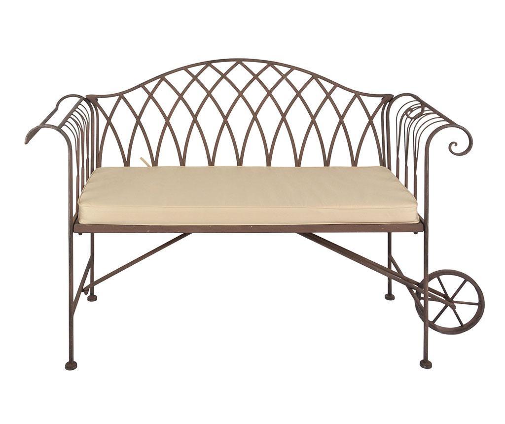 Jastuk za sjedalo Elvina 39.5x98.5 cm