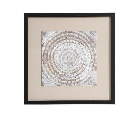 Obraz White Round Sphere 50x50 cm