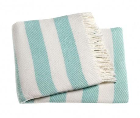 Candy Stripe Pastel Blue Pléd 140x180 cm