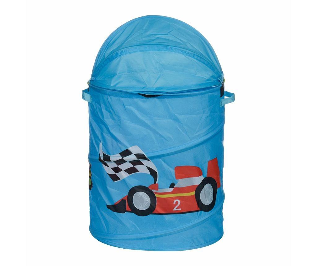 Racing Car Ruháskosár