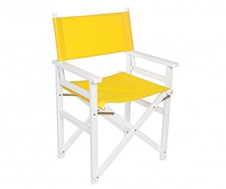 Składane krzesło zewnętrzne Sun Yellow