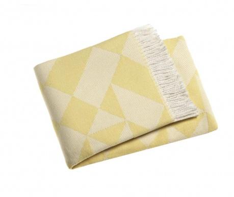 Priročna odeja Milano Yellow 140x180 cm