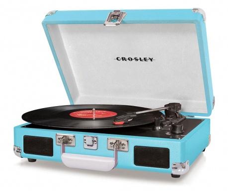 Грамофон Crosley Cruiser Deluxe Turquoise