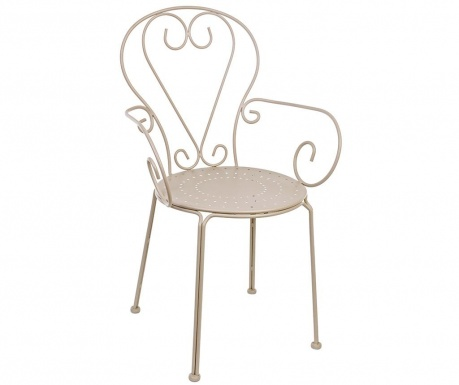 Outdoor chair Etienne Taupe