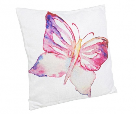 Dekoračný vankúš Aquarelle Butterfly 40x40 cm
