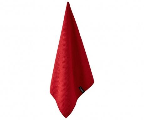 Microfibre Red Konyhai törölköző 50x70 cm
