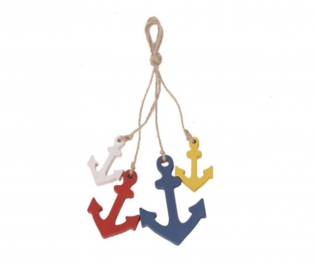 Colorful Anchors Felfüggeszthető dekoráció