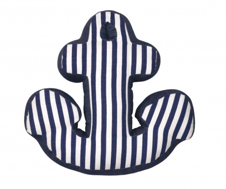 Striped Anchor Díszpárna 43x43 cm