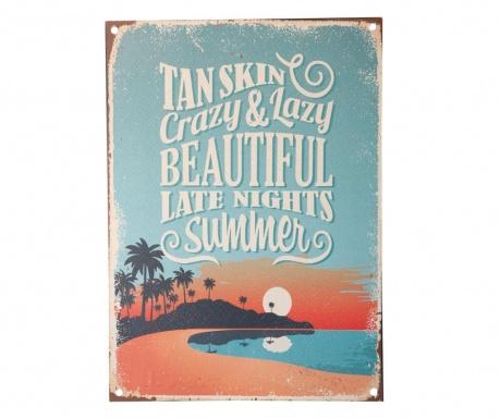 Tan Skin Fali dekoráció