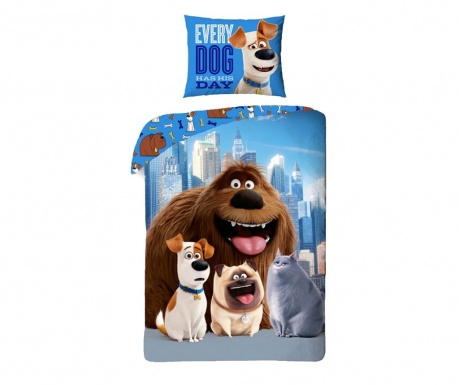 Posteljina Single Ranforce Secret Life Of Pets