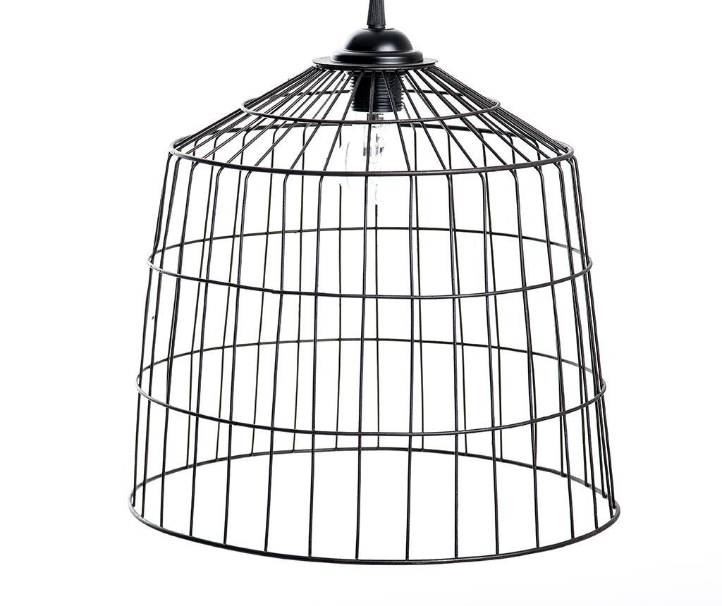 Závěsná lampa Black Round