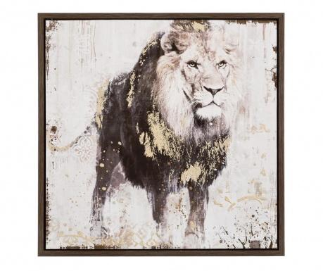 Lion Kép 64x64 cm