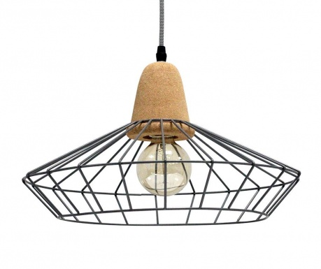 Závěsná lampa Ingvar Grey